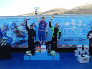 Austin Elliott takes P1 Engines to the top step of the podium (Photo: P1 Engines)