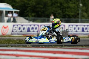 Lando Norris set the fastest time of the day in KF (Photo: press.net Images)
