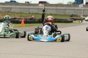 It was the first Rotax Junior victory for Parker Chase on Saturday (Photo: Dreams Captured Photography)