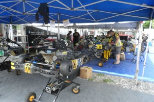 Checkered Motorsports is stacked with drivers at the USPKS program
