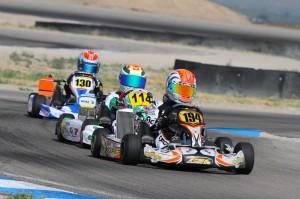 Sebastian Alvarez has two Mini Max heat wins going into Sunday's action (Photo: Ken Johnson - Studio52.us)