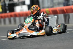 S5 Junior driver Evan Roshak continues to develop behind the wheel, placing inside the top-10 both days at the SummerNationals (Photo: On Track Promotions - otp.ca)