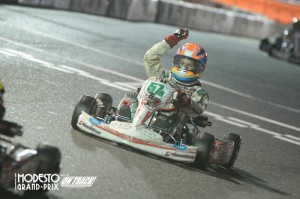 Michael d'Orlando was another first time Pro Tour winner, outlasting the TaG Cadet field (Photo: On Track Promotions - otp.ca)