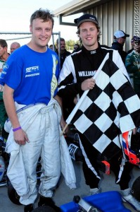 2014 RoboPong 200 winners Jimmy Simpson and Brandon Newey (Photo: DavidLeePhoto.com)