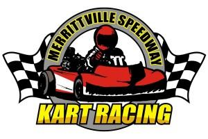 Merrittvillle Speedway Kart Racing logo