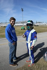 Trey and his Brother Drew on the grid before the start (Photo: Perry Herndon)