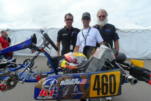 Rudolph has been a three-time Team USA member at the Rotax Grand Finals (Photo: EKN)