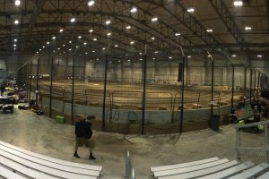 The Midwest Indoor Nationals inside the Du Quoin Fairgrounds in southern Illinois