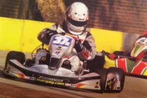 Howden aboard the Margay back in 2004 in TaG Masters, finishing sixth (Photo: SKI)