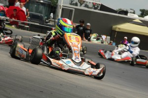Alejandro Jaramillo earned the victories in both Mini Max feature races (Photo: Dreams Captured Photography)