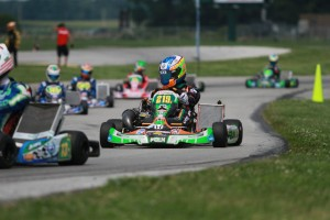 Kalish remained toward the front end of the 36-driver S2 field, driving to the second position on Saturday (Photo: EKN)