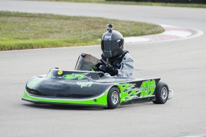 Ayden Guilbeau will have to drive flawless for Junior 1 title. (Photo: BigFont Photography)