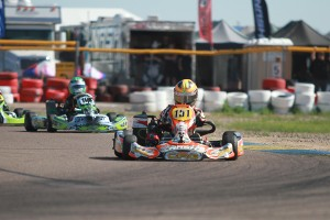 Marco Kacic went wire-to-wire in MIni Max (Photo: EKN)