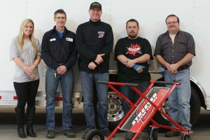 The Streeter crew: (L to R) Amber, Troy, Jeff, Mike, Vince