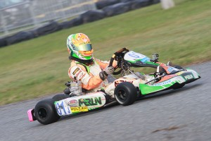 Winter Cup champion Brandon Lemke enters GoPro as the new point leader in Pro IAME Senior (Photo: EKN)