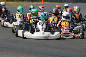 Jak Crawford earned his second victory of the weekend in MIni Max (Photo: SeanBuur.com)