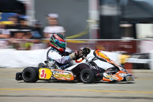 It was a hard-fought battle in X30 Senior with Matt Johnson claiming the victory (Photo: DromoPhotos.com)