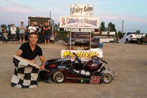 Dylan Culp Victory Lane May 31