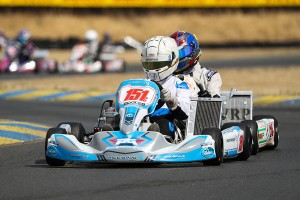 X30 Senior rookie Nicky Hays drove to his first victory in Sonoma (Photo: DromoPhotos.com)
