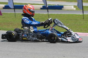 Brandon Jarsocrak aboard the new-look Praga chassis (Photo: EKN)