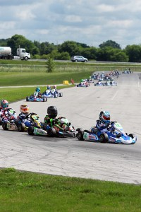 We need to continue teach the Cadet driver the correct way to do things on-track (Photo: EKN)