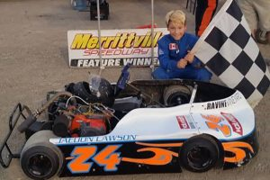 Jaedon Lawson in Victory Lane for the 6th time