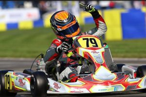 David Malukas was triumphant in X30 Junior last year, looking for the Senior title in 2016 (Photo: IAME International Final)