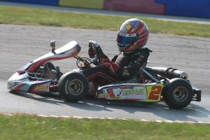 Caleb Gafrarar is one of 38 drivers looking to make history as inaugural winner of the Micro Swift main event (Photo: EKN)