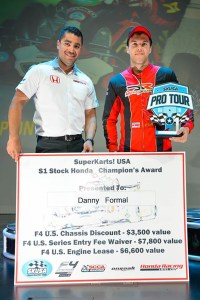 Formal's prize purse was boosted thanks to the prize from Honda/HPD toward the F4 US Championship (Photo: On Track Promotions - otp.ca)