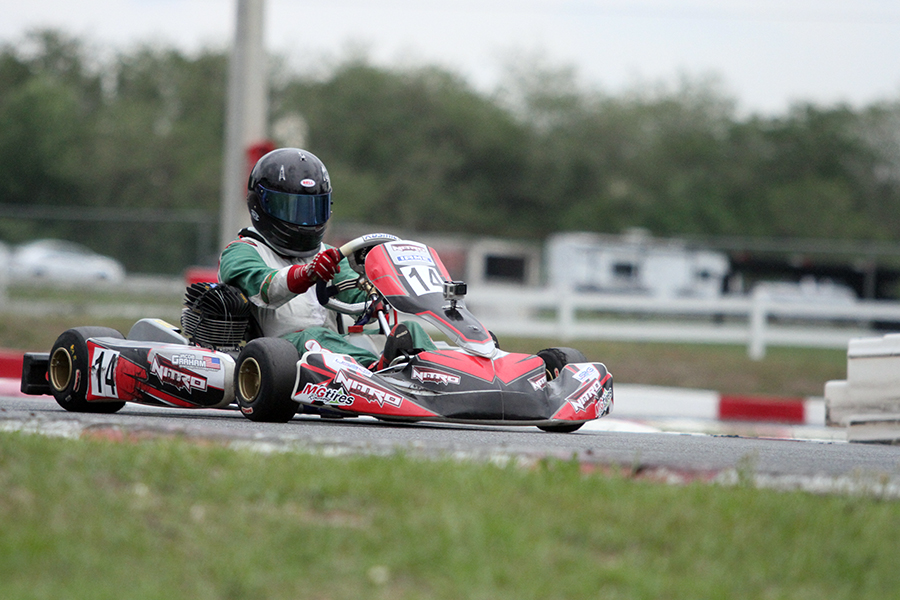 Jacob Graham became the inaugural KA100 Junior winner (Photo: EKN)