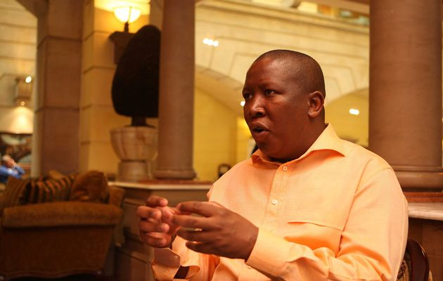 Julius Malema tells supporters to GRAB LAND