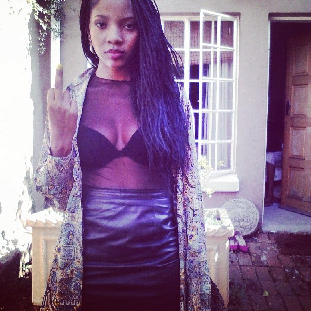Tbt #infamousclothing dressed by @Ms_Zikhali :)