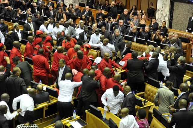 eff fight in Parliament