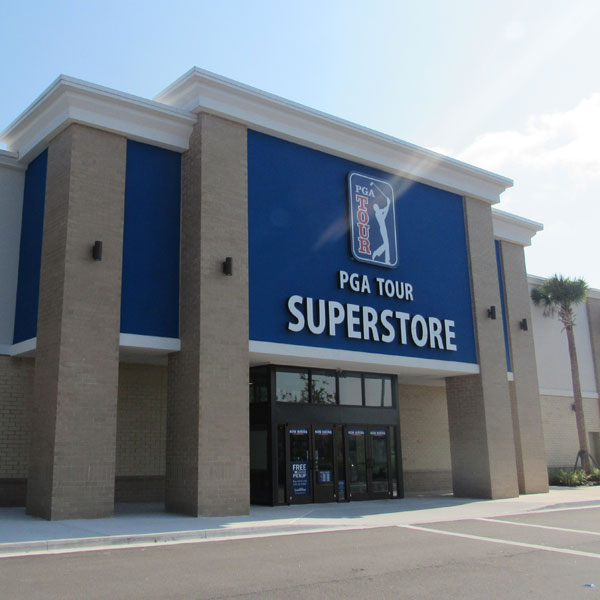 Commercial Masonry at PGA SuperStore in Jacksonville