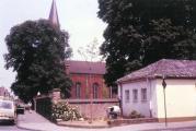 Gemeindezentrum vor dem Neubau (ca. 1972)