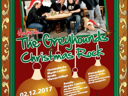 Die Greyhounds in concert .. am 2. Dezember