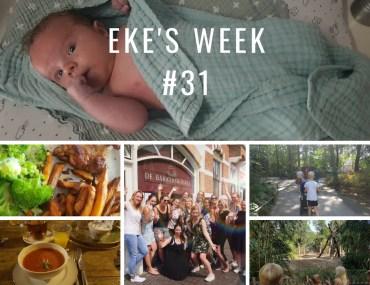 Eke's week #31: lekker eten, veel bloggen en leuke uitjes