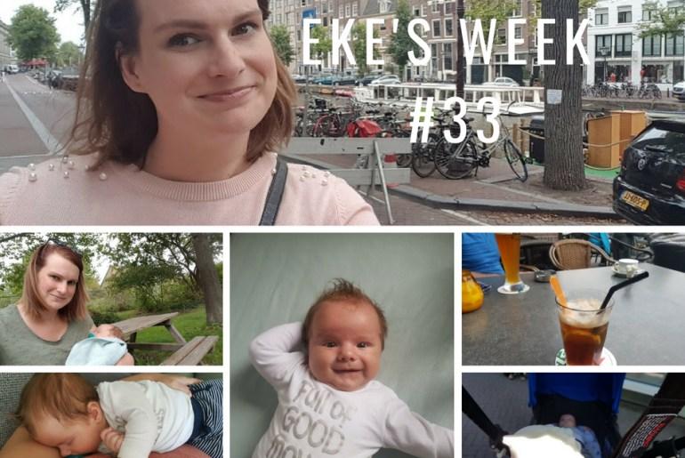 Eke's week #33: haar verven, Zomerbraderie en negatieve reacties