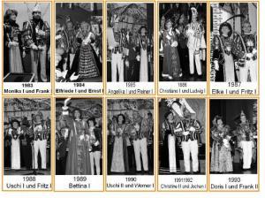 Regenten 1983 – 1993