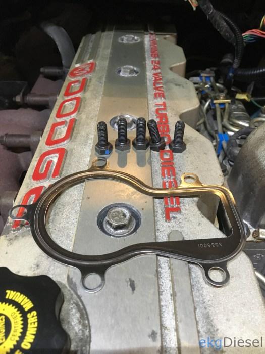 HX35W Turbo upgrade new flange