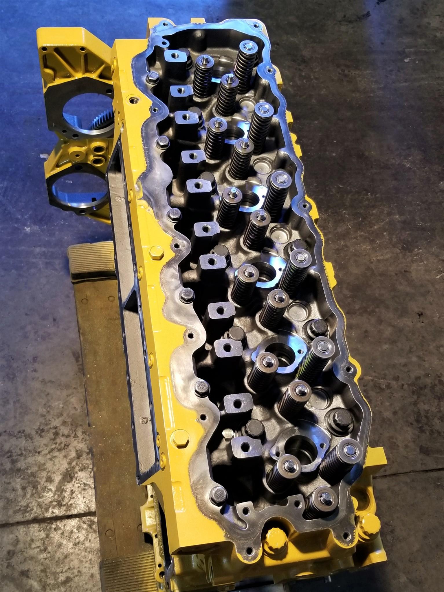 CAT C7 CATERPILLAR LONG BLOCK ENGINE - NEW GENUINE CATERPILLAR - NOT A REMAN