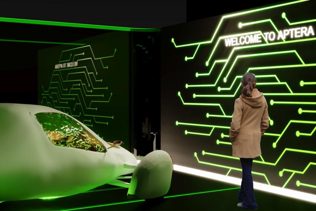 Aptera: Car Exhibition Design