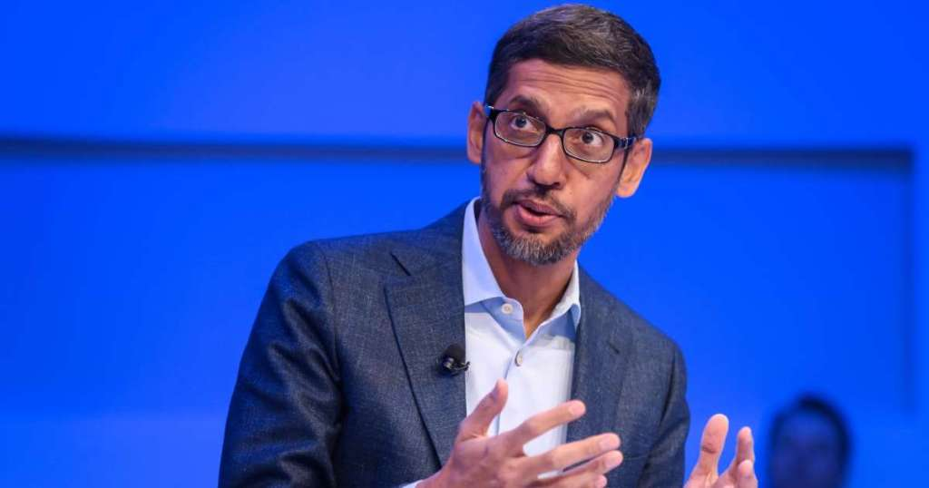 Google CEO Sundar Pichai plans to tell Congress the company.img