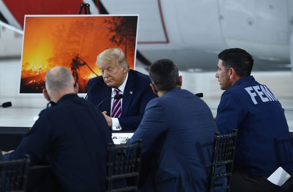 'i-don't-think-science-knows,'-trump-responds-when-challenged-on-climate-change-at-wildfire-briefing