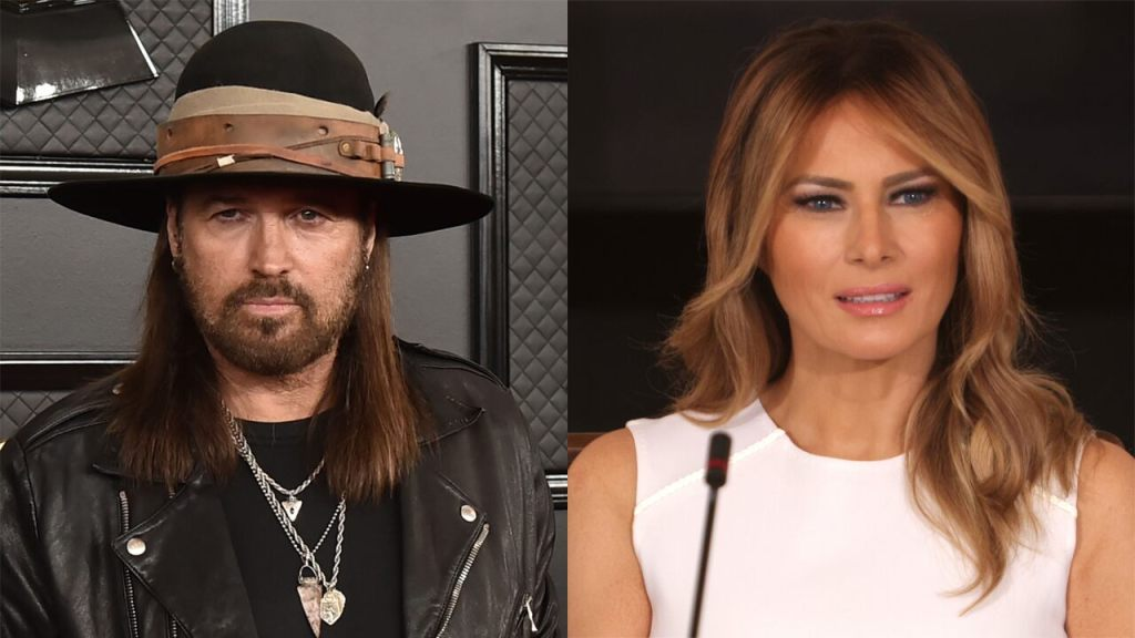 Billy Ray Cyrus sends well wishes to Melania Trump, thanks her for suicide prevention work