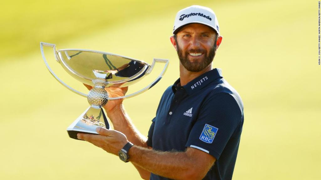Dustin Johnson, number-one golfer in the world, tests positive for Covid-19