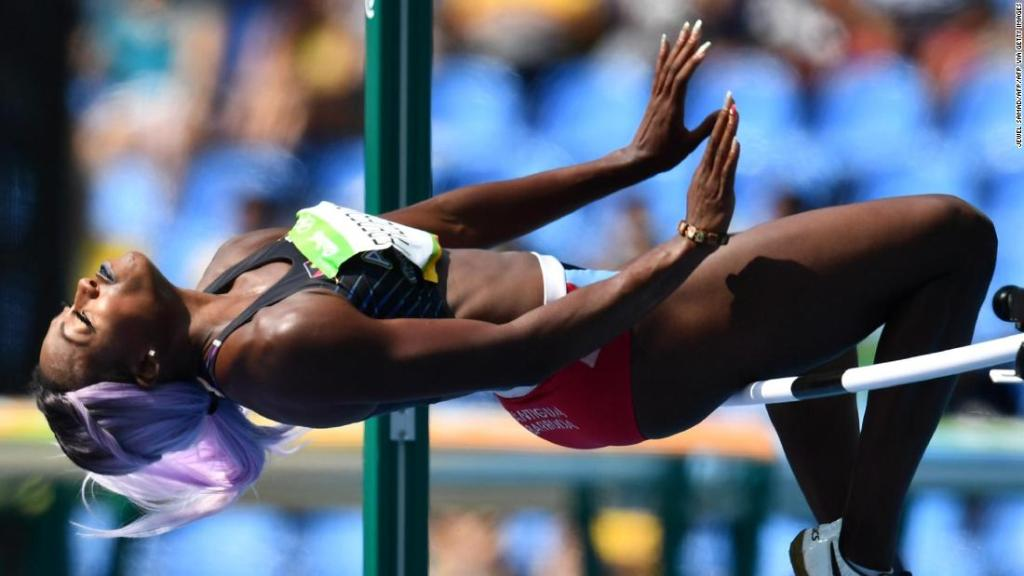 Eating disorders: Olympic high jumper Priscilla Frederick-Loomis pressured to 'perform better' and lose a few pounds
