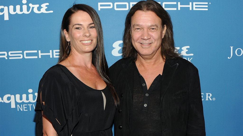 Eddie Van Halen's widow Janie says her 'heart and soul have been shattered' by his death