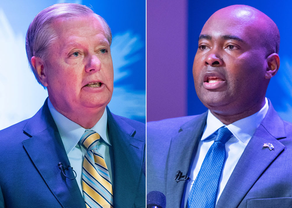 Lindsey Graham Senate seat winnable for Democrats as money pours in
