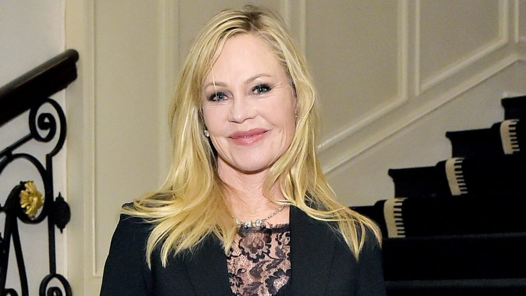 Melanie-Griffith-63-shows-off-age-defying-figure-for-breast-cancer